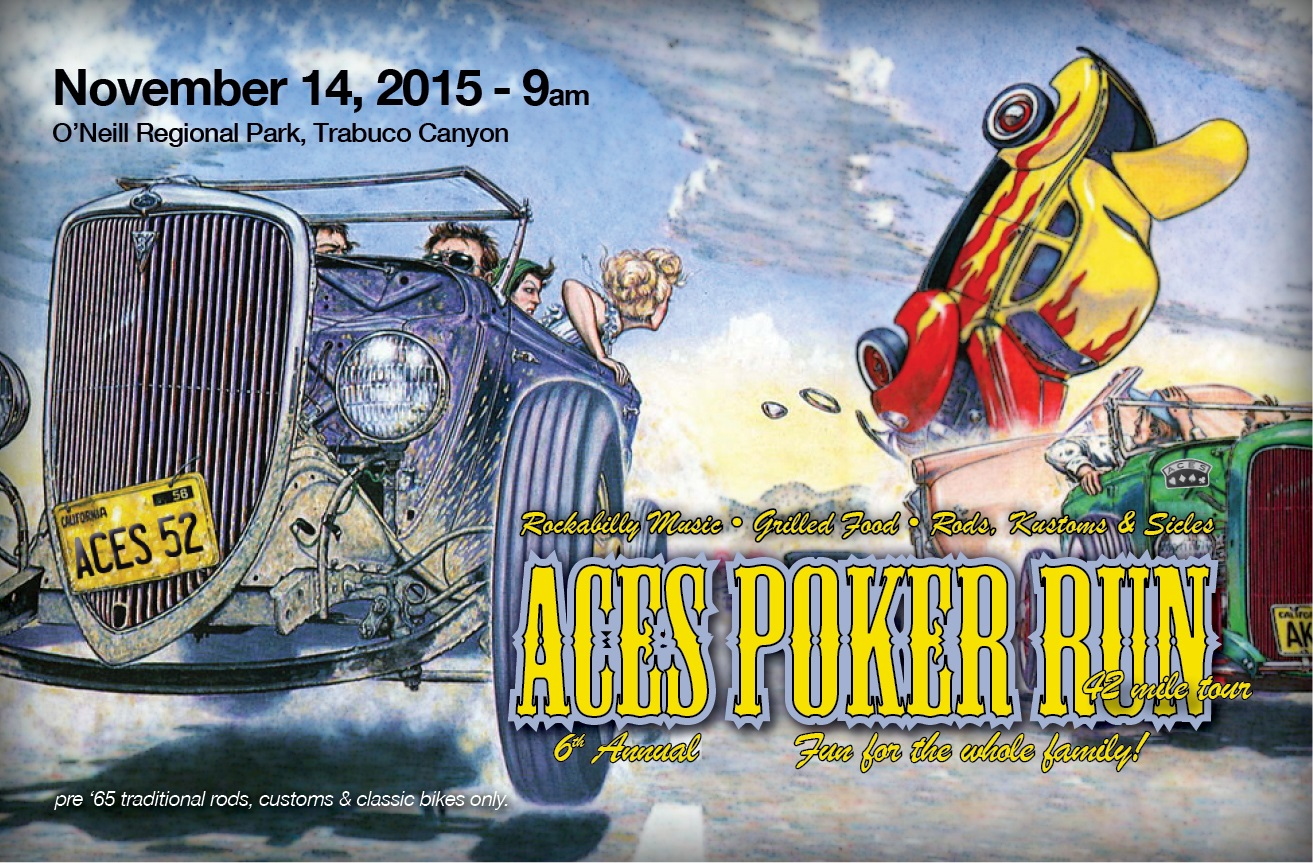 Aces Poker Run 2015